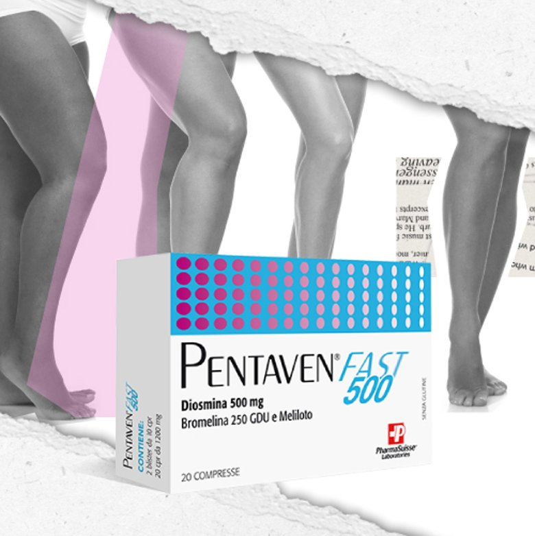 pentaven fast 500 - contro gonfiore alle gambe